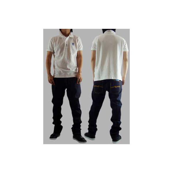【SALE】NICKEL&DIME  S/S Polo Shirt PIQUET M C White ニッケル&ダイム S/S ポロシャツ ピケット M C ホワイト|cio|02