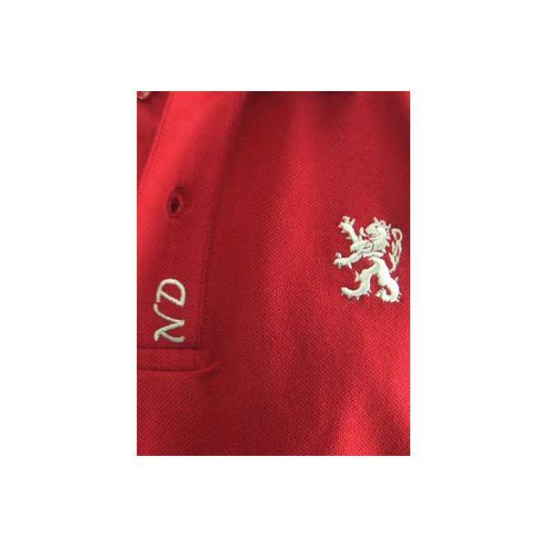 【SALE】NICKEL&DIME  S/S Polo Shirt PIQUET M C  Red ニッケル&ダイム S/S ポロシャツ ピケット M C レッド|cio|04