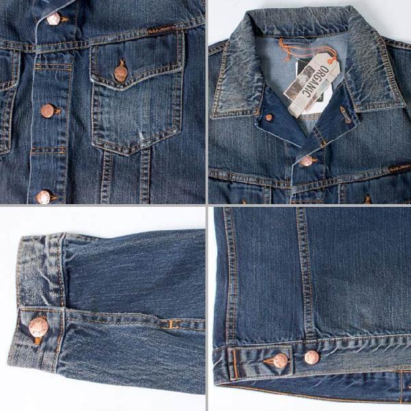 ヌーディージーンズ ジャケット テリー オーガニックストライキーデニム Nudie Jeans Terry Organic Strikey Denim|cio|03