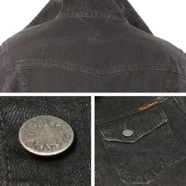 ヌーディージーンズ コニー オーガニック ブラックストーン Nudie Jeans Conny Organic Black Stone|cio|03