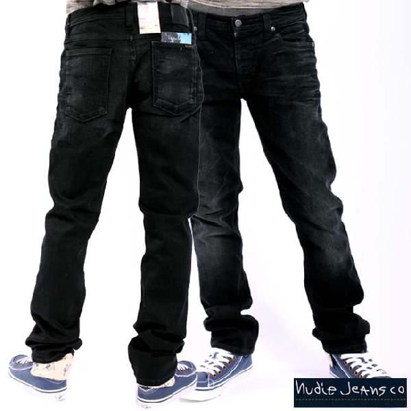ヌーディージーンズ シンフィン ローヨーク シンスキニーレッグス ダスティー ブラック 32161-1305 NUDIE JEANS THIN FINN low yoke thinn skinny legs|cio