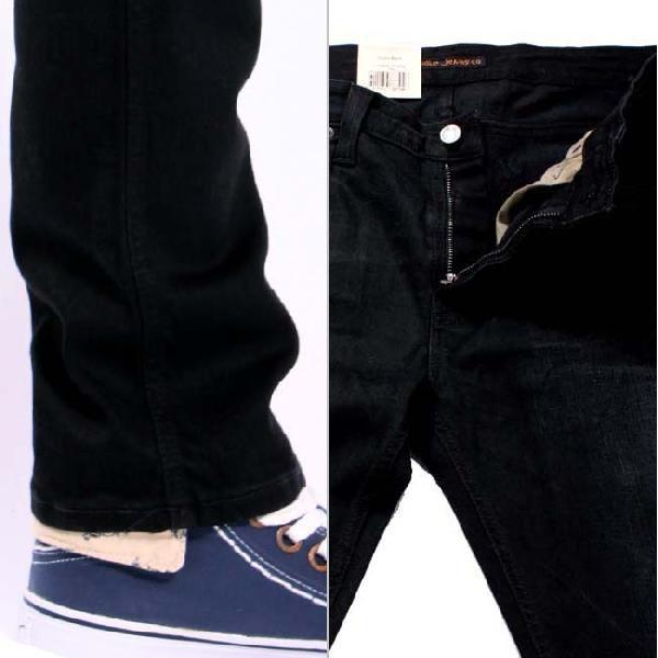 ヌーディージーンズ シンフィン ローヨーク シンスキニーレッグス ダスティー ブラック 32161-1305 NUDIE JEANS THIN FINN low yoke thinn skinny legs|cio|04