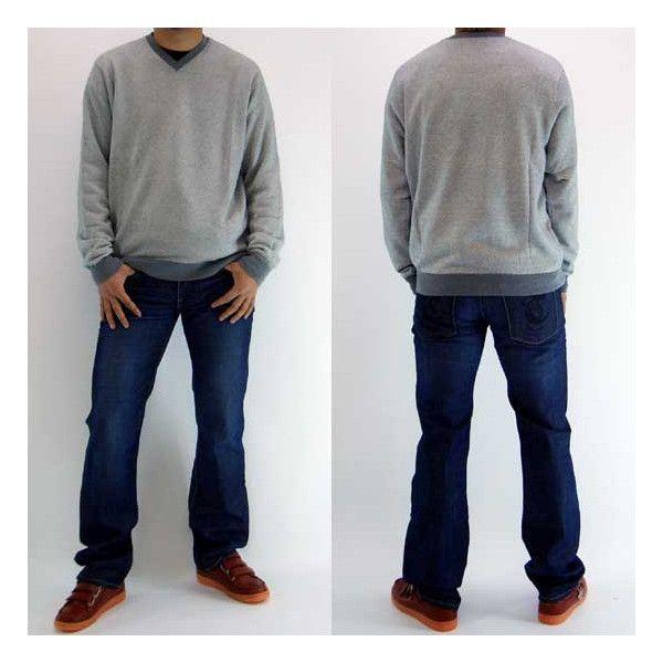 【SALE】Polo Ralph Lauren V Neck Knit Sweater 0127672 BG CONCORDE Gray ポロ ラルフローレン ブイネックニットセーター BG コンコルド グレー|cio|02