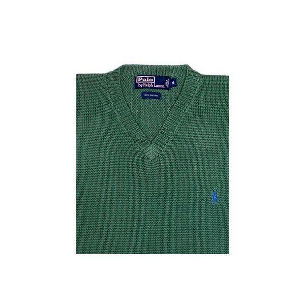 【SALE】POLO RALPH LAUREN L/S SWEATER Dark Green ポロ ラルフローレン L/Sニット ダークグリーン cio 03
