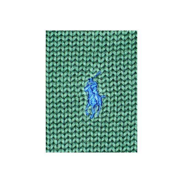 【SALE】POLO RALPH LAUREN L/S SWEATER Dark Green ポロ ラルフローレン L/Sニット ダークグリーン cio 04