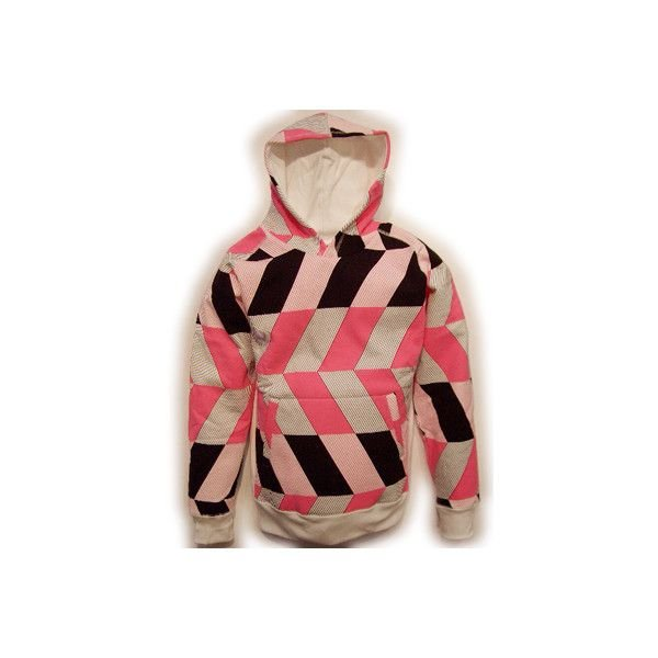 RED CLAY VIEW FROM ABOVE HOODIE White Pink Black レッドクレイ ビュー フロム アバーヴ フーディー ホワイト ピンク ブラック|cio