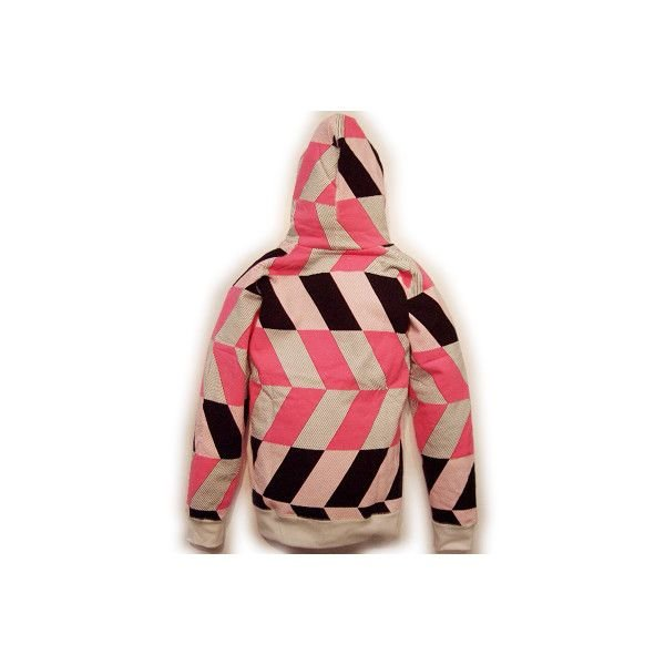 RED CLAY VIEW FROM ABOVE HOODIE White Pink Black レッドクレイ ビュー フロム アバーヴ フーディー ホワイト ピンク ブラック|cio|02