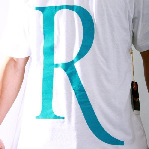 【SALE】リッチヤング S/S Tシャツ RY-F10-52 ホワイト ターコイズ RICH YUNG SS T-shirt RY-F10-52 White Turquoise cio 03