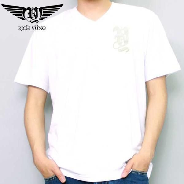 【SALE】リッチ ヤング S/S Tシャツ RY-SP10-13 ホワイト RICH YUNG SS TEE RY-SP10-13 White|cio