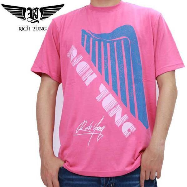 【SALE】リッチ ヤング S/S Tシャツ RY-SP10-06 マゼンタ RICH YUNG S/S TEE RY-SP10-06 Magenta|cio