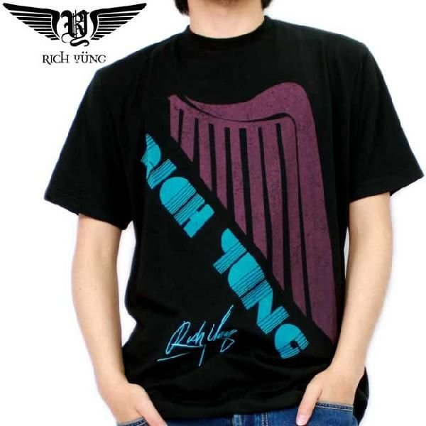【SALE】リッチ ヤング S/S Tシャツ RY-SP10-06 ブラック RICH YUNG S/S TEE RY-SP10-06 Black|cio