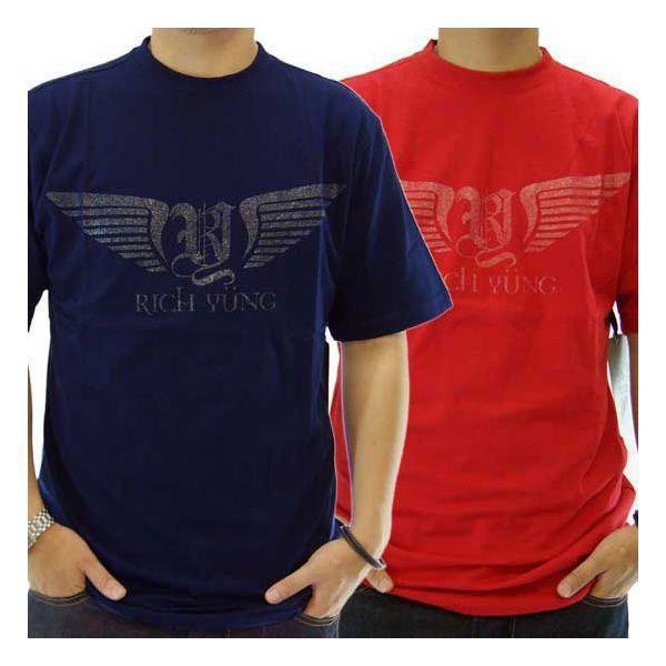 【SALE】RICH YUNG RY-SU08-09 S/S TEE リッチヤング RY-SU08-09 S/S Tシャツ cio