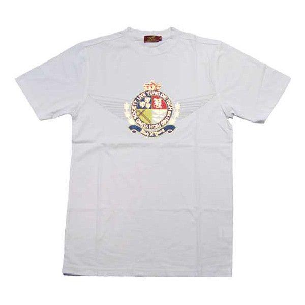 RICH YUNG RY SP 101 SOCIETY CREST S/S TEE White リッチヤング ソサエティークレスト S/S Tシャツ ホワイト|cio