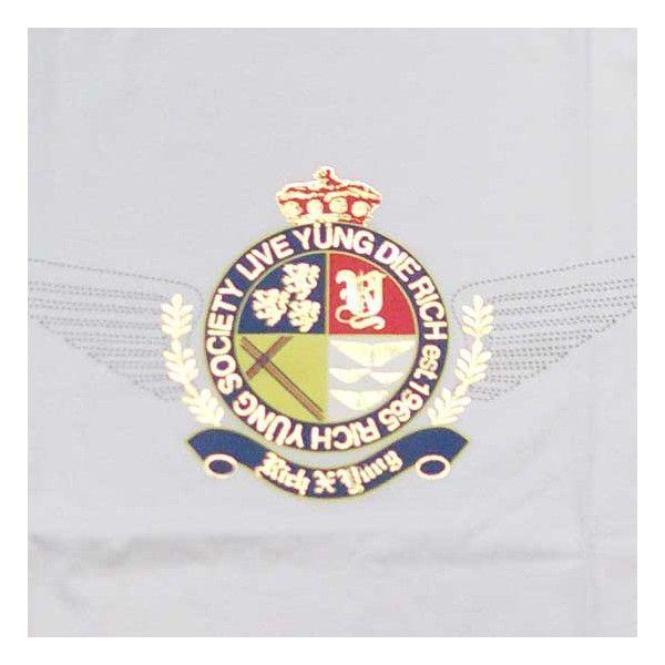 RICH YUNG RY SP 101 SOCIETY CREST S/S TEE White リッチヤング ソサエティークレスト S/S Tシャツ ホワイト|cio|03