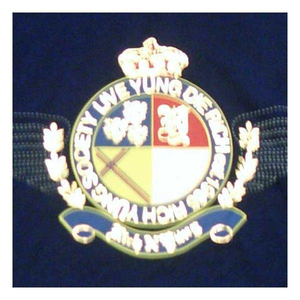【SALE】リッチヤング ソサエティークレスト S/S Tシャツ ピーコートネイビー RICH YUNG RY SP 101 SOCIETY CREST S/S TEE Peacoat Navy cio 03