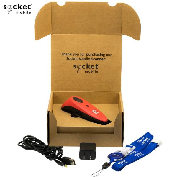 ソケットモバイル ワイヤレス CCDバーコードリーダー CHS7シリーズ CHS7Ci V3 CX2885-1484 Bluetooth MFi レッド Socket Mobile Wireless Barcode Reader|cio|02