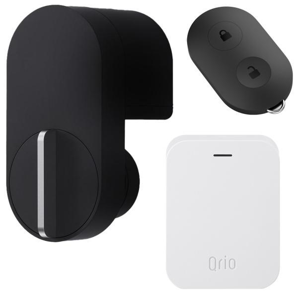 キュリオロック Q-SL2 セット(キュリオキー、キュリオ ハブ付き) ブラック Qrio Lock Q-SL2 Set (including Qrio Key and Qrio Hub) Black|cio