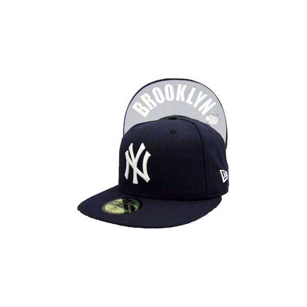 ニューエラ キャップ アンダーバイザー ニューヨークヤンキース ブルックリン ネイビー New Era Cap UNDER VISOR New York Yankees BROOKLYN|cio