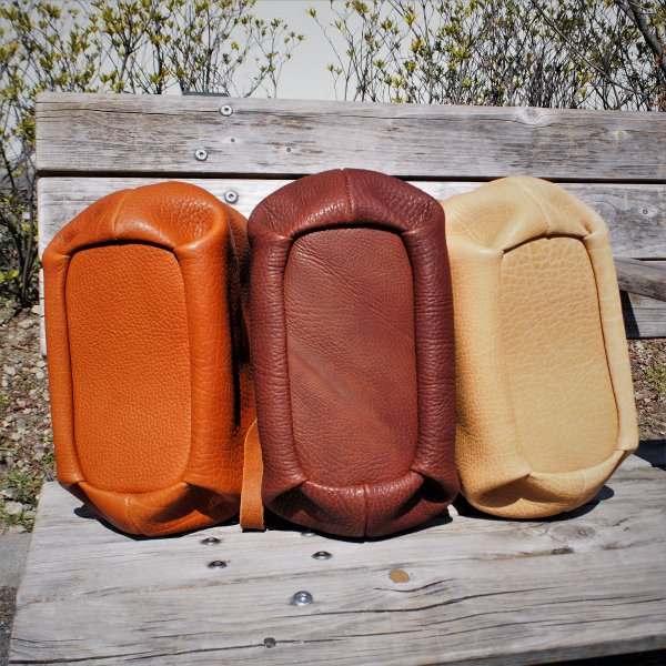 ニュークラシック ダレスバッグ [cham] チャム 送料無料 本革製 日本製 ナチュラル