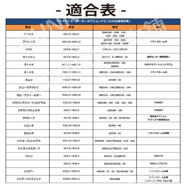 【VTR 映像入力 接続 アダプター】トヨタ/ダイハツ/イクリプス 用 カプラーオン RCA接続 取説付 citizens-honpo 05