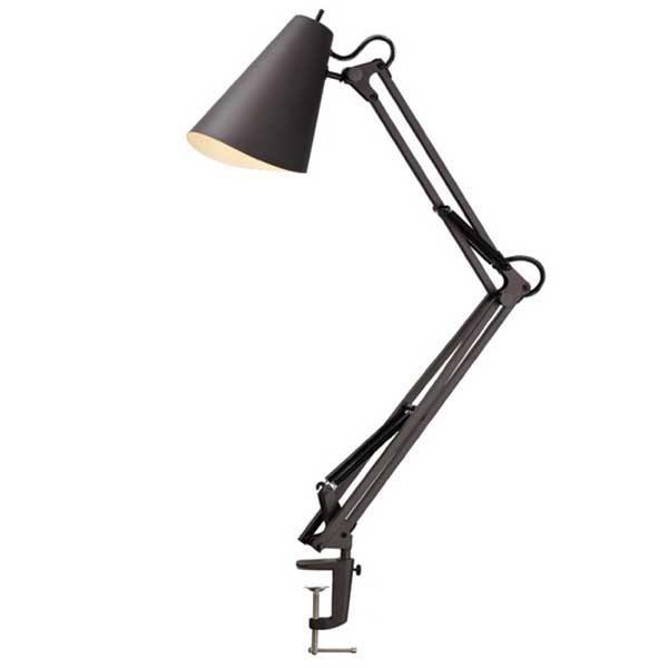 ART WORK STUDIO Snail Desk Arm Light スネイルデスクアームライト 電球なし AW-0369Z BK ブラック|citron-g|02