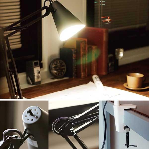 ART WORK STUDIO Snail Desk Arm Light スネイルデスクアームライト 電球なし AW-0369Z BK ブラック|citron-g|03