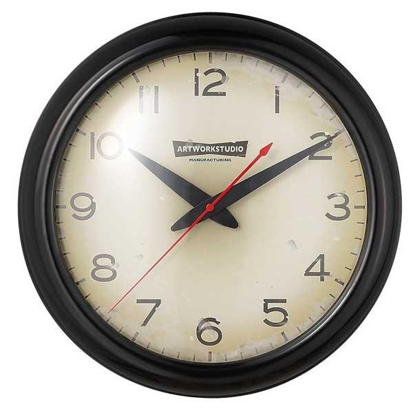 ART WORK STUDIO アートワークスタジオ FRANKLIN-Clock フランクリンクロック TK-2071 BK/VI ブラック/ビンテージ