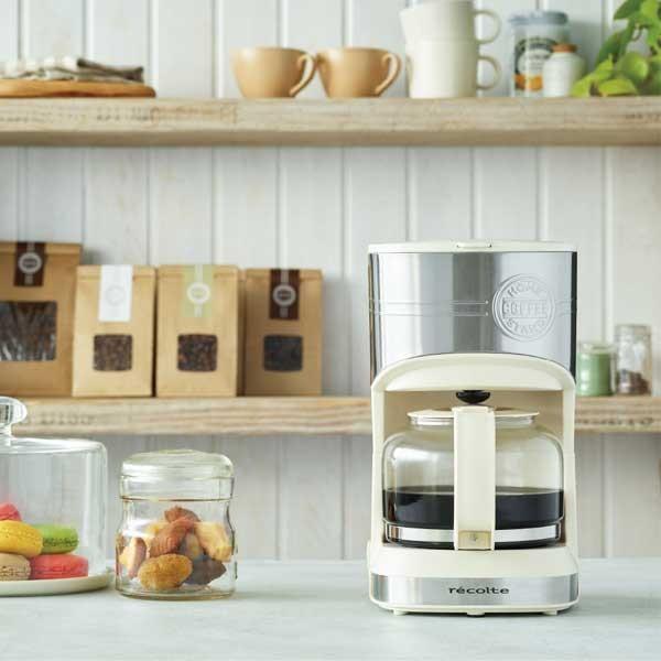 recolte レコルト Home Coffee Stand ホームコーヒースタンド ホワイト RHCS-1(W) |citron-g|07