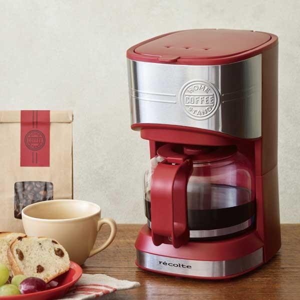 recolte レコルト Home Coffee Stand ホームコーヒースタンド レッド RHCS-1(R)  citron-g