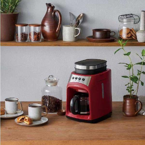 recolte レコルト Grind and Drip Coffee Maker グラインド アンド ドリップコーヒーメーカー FIKA フィーカ レッド RGD-1(R) 【送料無料】 citron-g 02