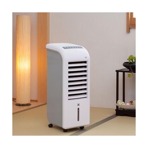 あすつく 冷風 温風 2way スリム温冷風扇 ヒート&クール 冷風扇 ゼンケン ZHC-1200 送料無料 扇風機 冷風機 暖房器具 おすすめ
