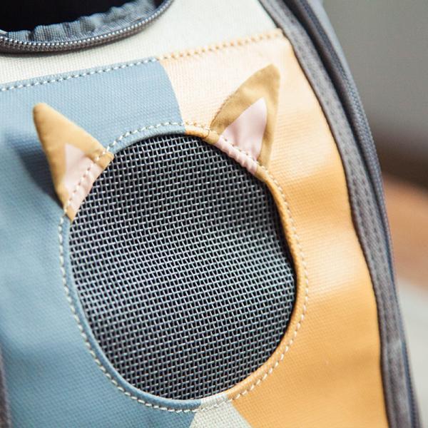 ペット キャリー バッグ ペットキャリーバッグ 猫用キャリーバッグ 猫 犬 ペット用バック ショルダーキャリーパッグ 3色 日本正規代理店 TOUCHDOG 送料無料|civil-life|12