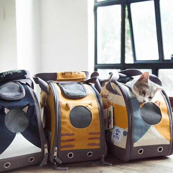 ペット キャリー バッグ ペットキャリーバッグ 猫用キャリーバッグ 猫 犬 ペット用バック ショルダーキャリーパッグ 3色 日本正規代理店 TOUCHDOG 送料無料|civil-life|09
