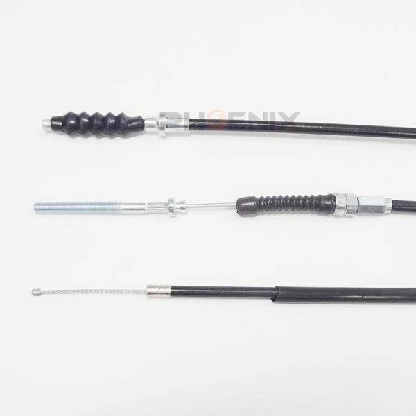 モンキー AB27 ケーブル 3本セット アクセルワイヤー クラッチワイヤー ブレーキワイヤー アウターチューブ 純正タイプ 純正長 黒|ck-custom|02