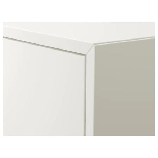 IKEA イケア キャビネット 棚 扉2 棚板2付き ホワイト b10334606 EKET clair-kobe 03