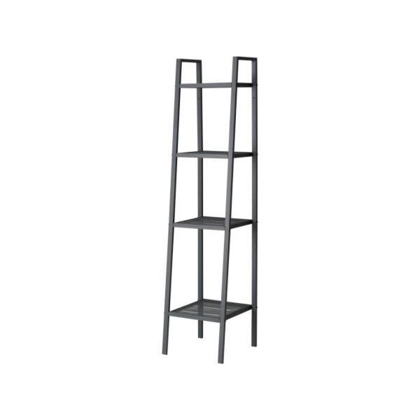 IKEA イケア シェルフユニット 棚 ダークグレー b20186399 LERBERG clair-kobe