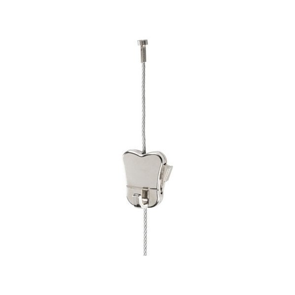 IKEA イケア ワイヤー ストッパー&調節可能フック付き スチール メタル d10352676 HAGHED|clair-kobe