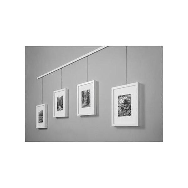 IKEA イケア ワイヤー ストッパー&調節可能フック付き スチール メタル d10352676 HAGHED|clair-kobe|03