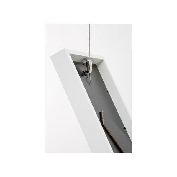 IKEA イケア ワイヤー ストッパー&調節可能フック付き スチール メタル d10352676 HAGHED|clair-kobe|04