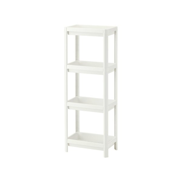 IKEA イケア シェルフユニット 棚 ホワイト d20307867 VESKEN|clair-kobe
