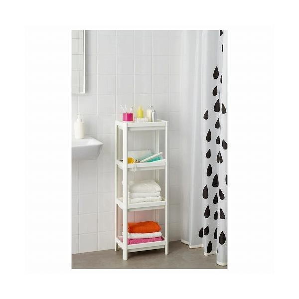 IKEA イケア シェルフユニット 棚 ホワイト d20307867 VESKEN|clair-kobe|02