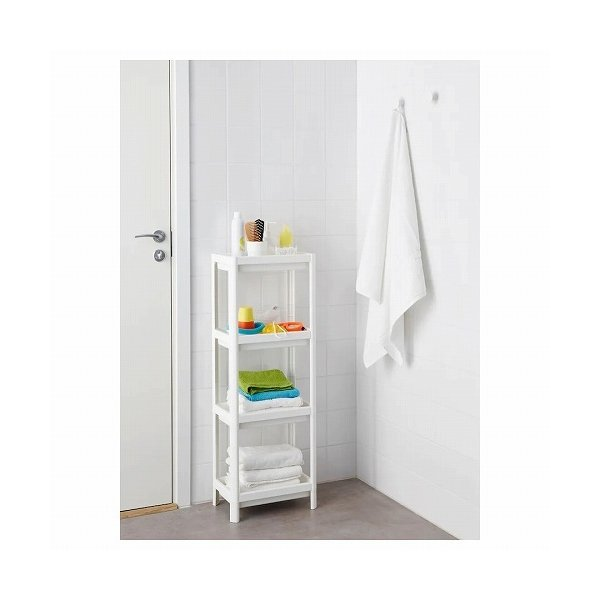 IKEA イケア シェルフユニット 棚 ホワイト d20307867 VESKEN|clair-kobe|03