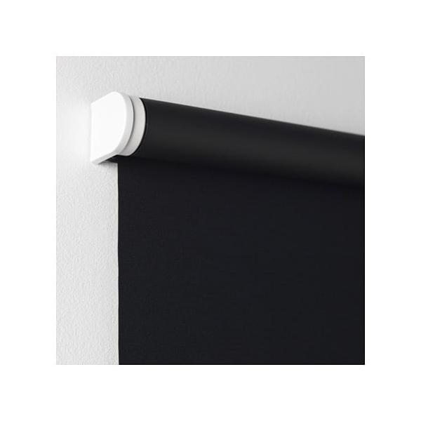 IKEA イケア 遮光ローラーブラインド ブラック 80x195cm d40349319 TUPPLUR|clair-kobe|02