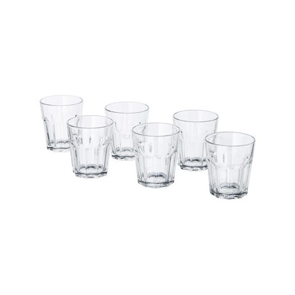 RoomClip商品情報 - IKEA イケア グラス コップ  クリアガラス  6 ピース d70288239 POKAL
