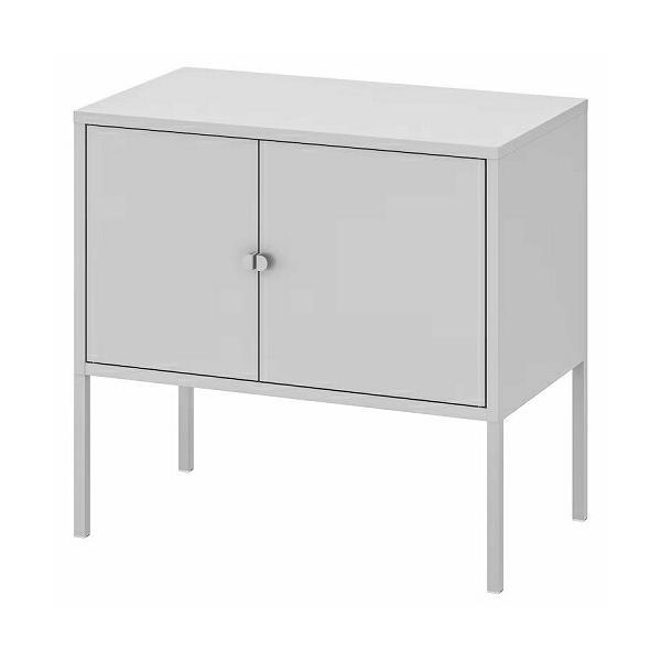RoomClip商品情報 - IKEA イケア キャビネット 棚 メタル グレー d80328678 LIXHULT