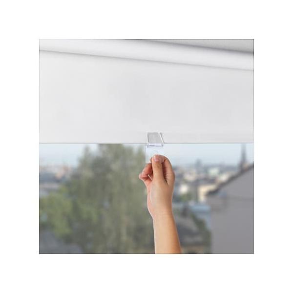 IKEA イケア 遮光ローラーブラインド ホワイト 120x195cm d80349303 TUPPLUR|clair-kobe|04