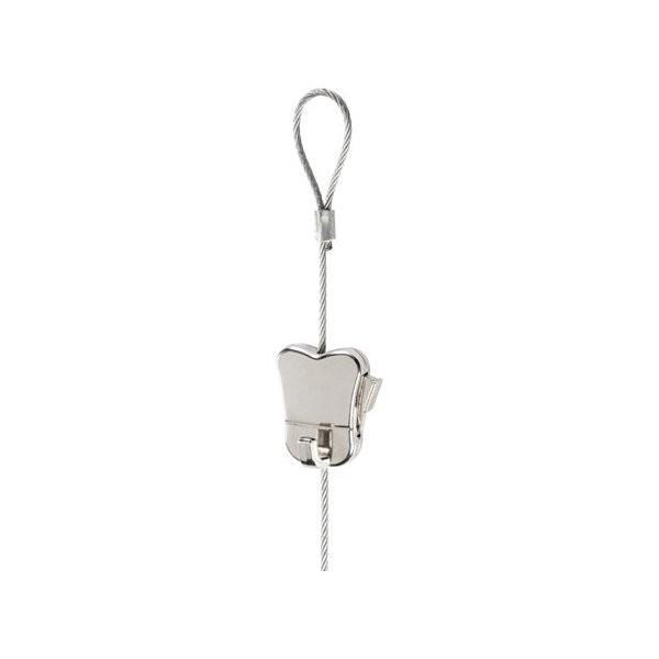 IKEA イケア ワイヤー ループ&調節可能フック付き スチール メタル d90352837 HAGHED|clair-kobe