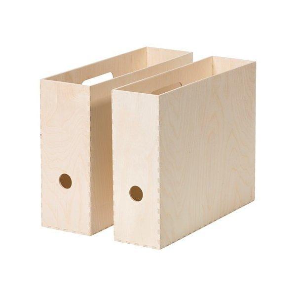 IKEA イケア VIRRA マガジンファイル / 2 ピース d90358877