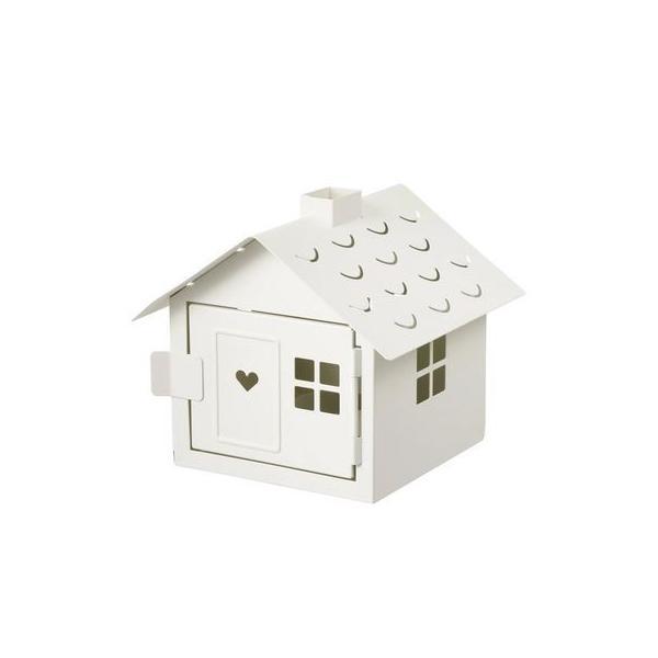 IKEA イケア VINTERFEST ティーライトホルダー 家 ホワイト n10433338