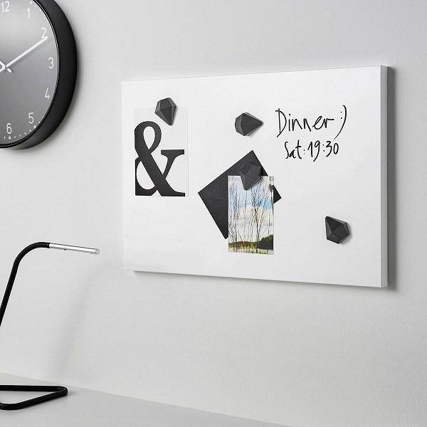 IKEA イケア メモボード ホワイト 白 40x60cm n50440365 SVENSAS clair-kobe 02